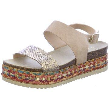 Trend Shoe Modische Sandaletten beige