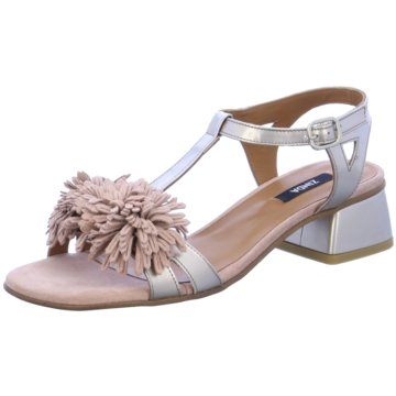 Zinda Modische Sandaletten grau