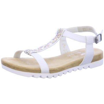 Rieker Sandale weiß