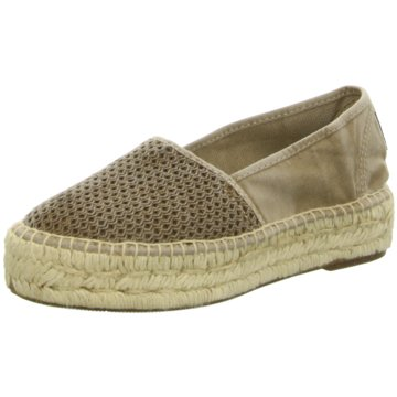 Natural World Eco Espadrille braun