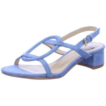 Bibi Lou Riemchensandalette blau