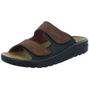 Algemare Komfort Sandale braun