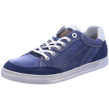 Australian Footwear Klassischer Schnürschuh blau