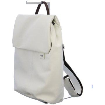 Zwei Rucksack weiß