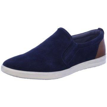 Longo Sportlicher Slipper blau