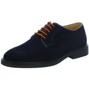 Gant Eleganter Schnürschuh blau