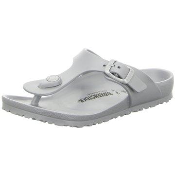 Birkenstock Offene Schuhe grau