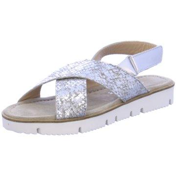 Alpe Team Modische Sandaletten silber