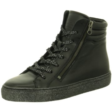 MACA Modische Sneaker schwarz