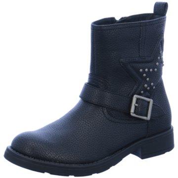 Geox Halbhoher Stiefel schwarz