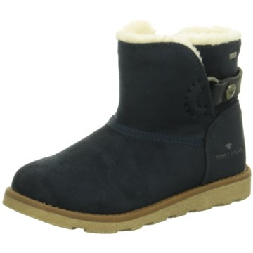 Tom Tailor Winterstiefel blau