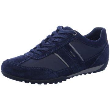 Geox Klassischer Schnürschuh blau