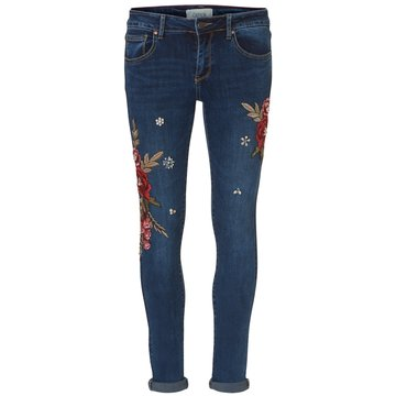 Cartoon Damenmode blau