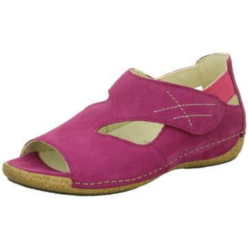 Waldläufer Komfort Sandale pink