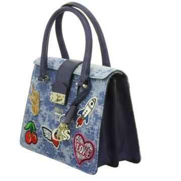 Guess Handtasche blau