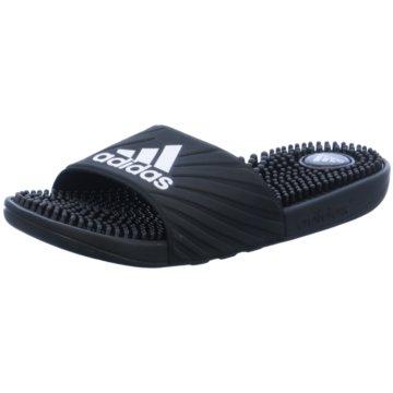 adidas Badeschuh schwarz