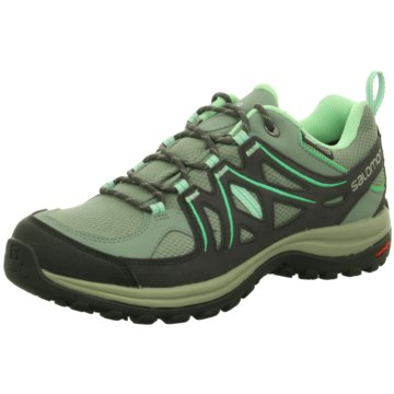 Salomon Walkingschuhe grün