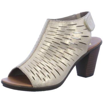 Rieker Komfort Sandale gold