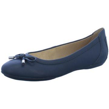 Geox Klassischer Ballerina blau