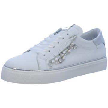 Alpe Woman Shoes Klassischer Schnürschuh weiß