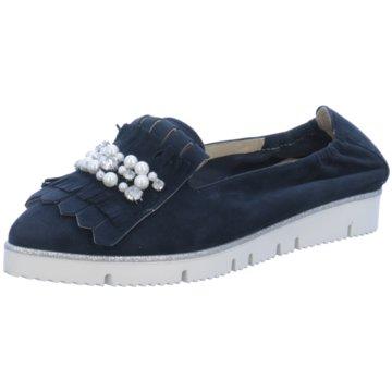 Alpe Woman Shoes Klassischer Slipper blau