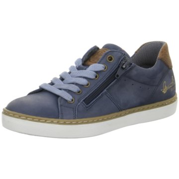 Kid boxer Sneaker Low blau