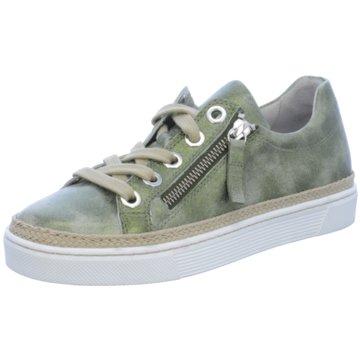 Gabor comfort Klassischer Schnürschuh grün