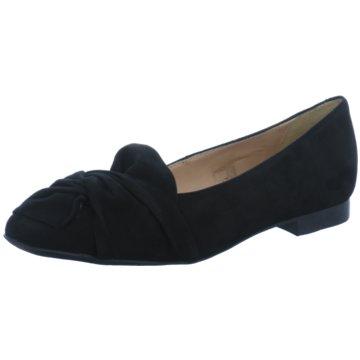 Carmens Klassischer Slipper schwarz