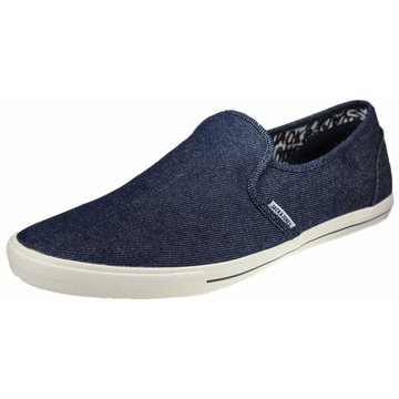 Jack & Jones Klassischer Slipper blau