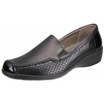 Aco Komfort Slipper schwarz