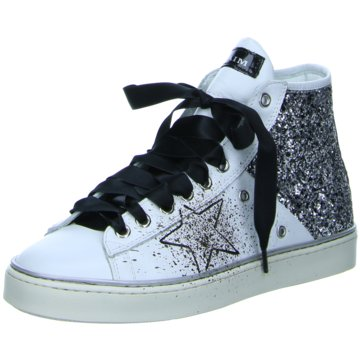 No Claim Sneaker High weiß