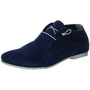 Donna Carolina Modische Schnürschuhe blau