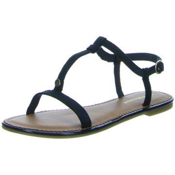 Tommy Hilfiger Modische Sandaletten blau