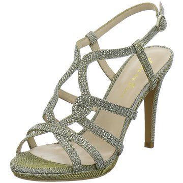 Alma en Pena Modische High Heels gold