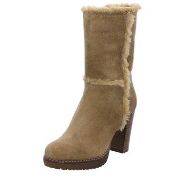 Alpe Woman Shoes Plateau Stiefel braun