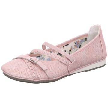 Supremo Riemchen Ballerina rosa