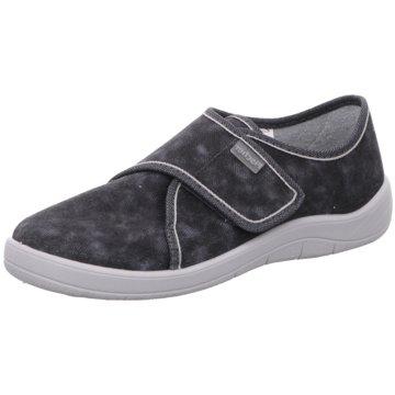 Fischer Schuhe Komfort Slipper grau