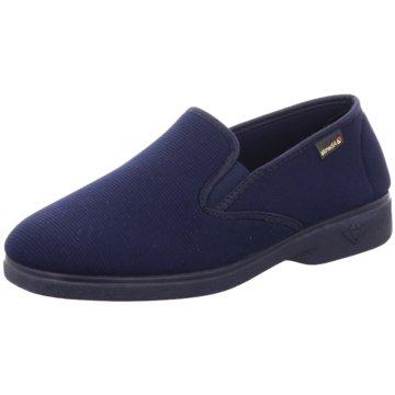Alberola Komfort Slipper blau