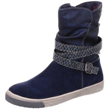Idana Hoher Stiefel blau