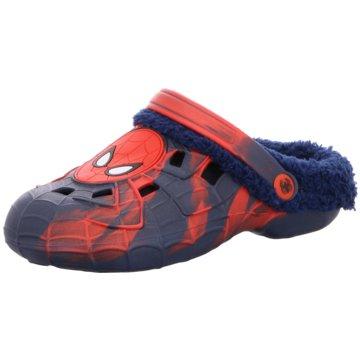 Spidermann Clog blau
