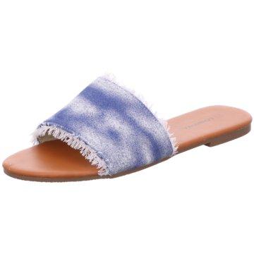 Topway Klassische Pantolette blau