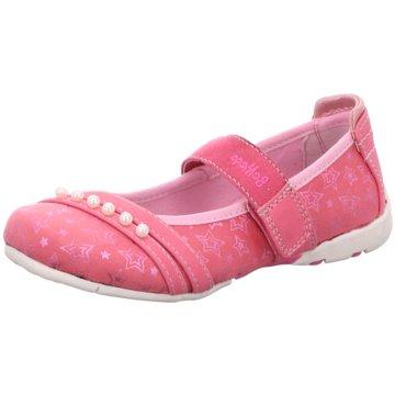 BM Footwear Spangenschuh pink
