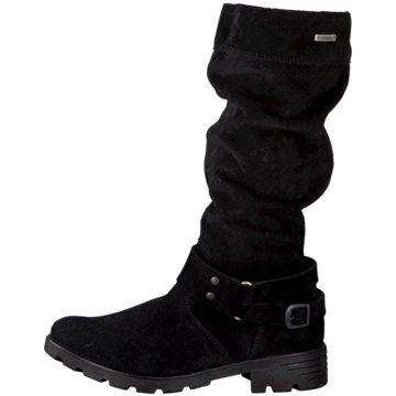 Ricosta Hoher Stiefel schwarz