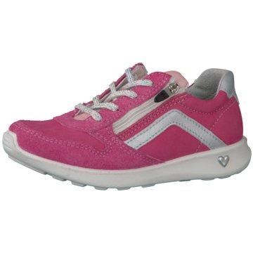 Ricosta Sportlicher Schnürschuh pink