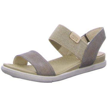 Ecco Sandale beige