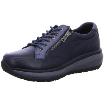 Joya Komfort Schnürschuh blau