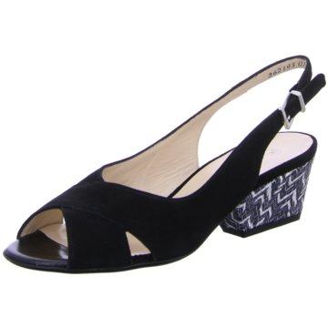 Peter Kaiser Modische Sandaletten schwarz