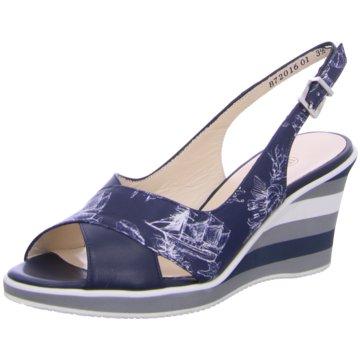 Peter Kaiser Modische Sandaletten blau