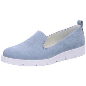 Ecco Klassischer Slipper blau