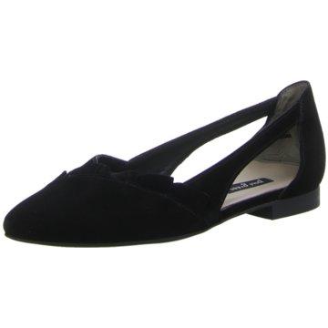 Paul Green Klassischer Ballerina schwarz
